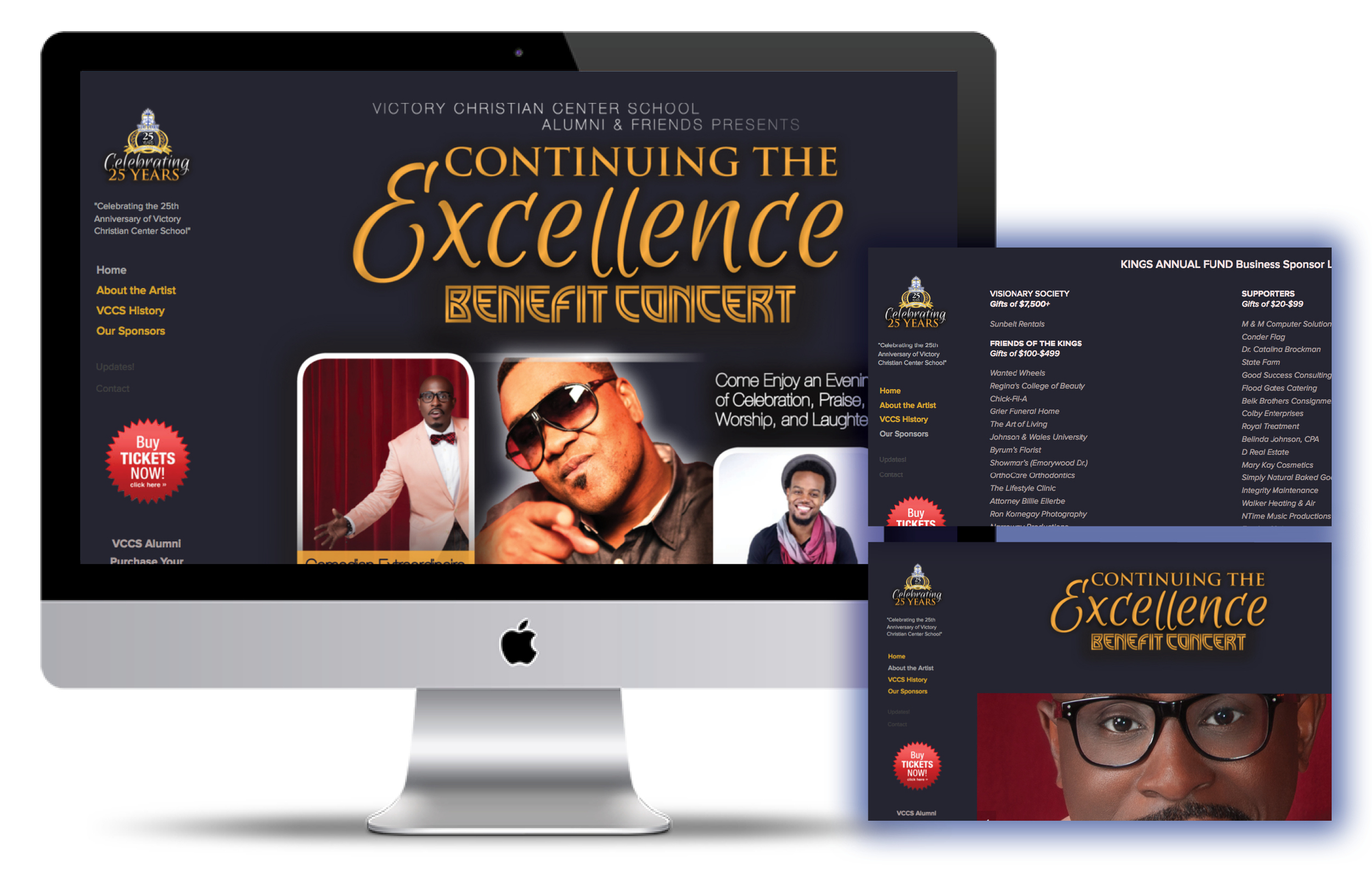 """Continuing the Excellence"" Benefit Concert"