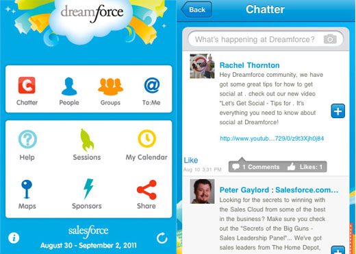 dreamforce app