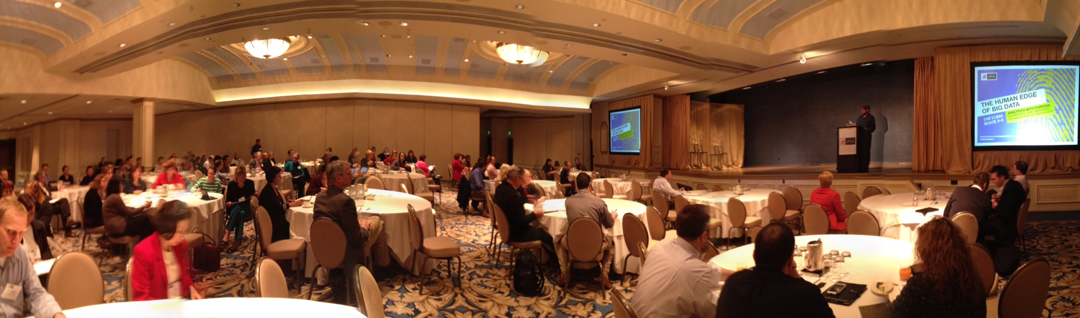 A panorama of the conference by John Szabo, taken from Brian Juicer's blog (click image for link)