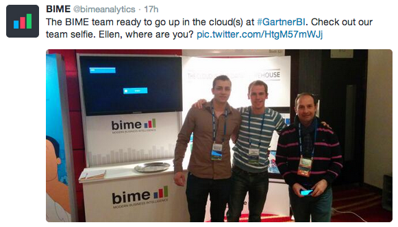 A part of BIME's team.