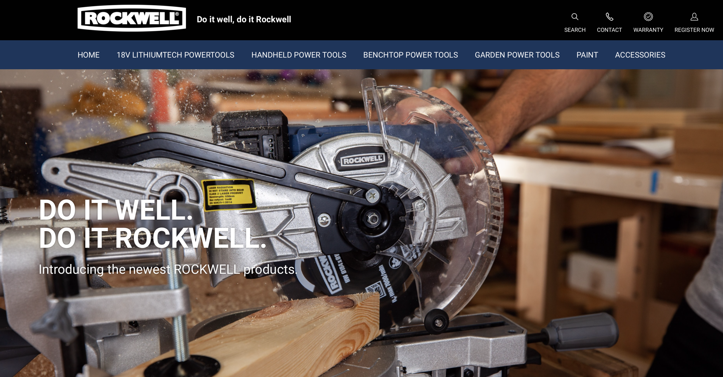 Rockwell Tools Website Screenshot.png