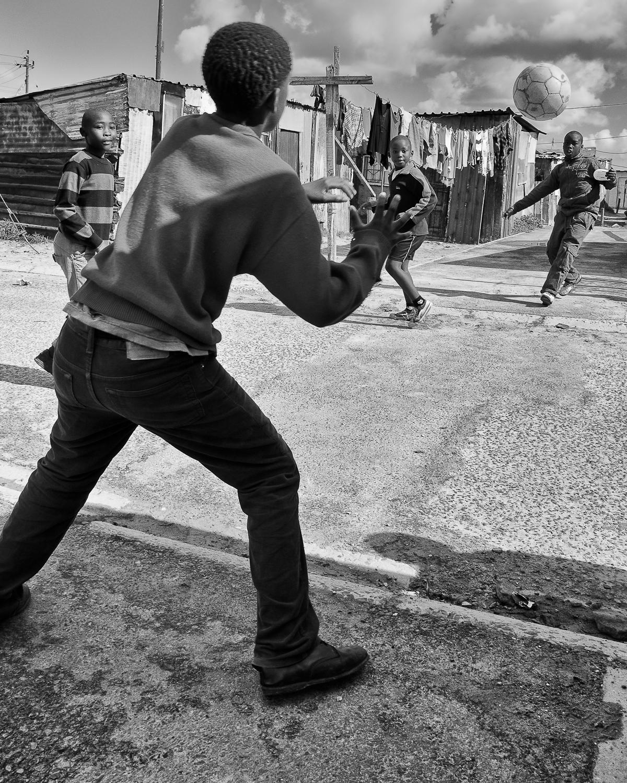 Street Soccer / Khayelitsha Township, South Africa