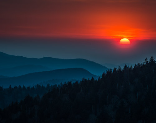 From Clingman's Dome, Great Smoky Mountains National Park