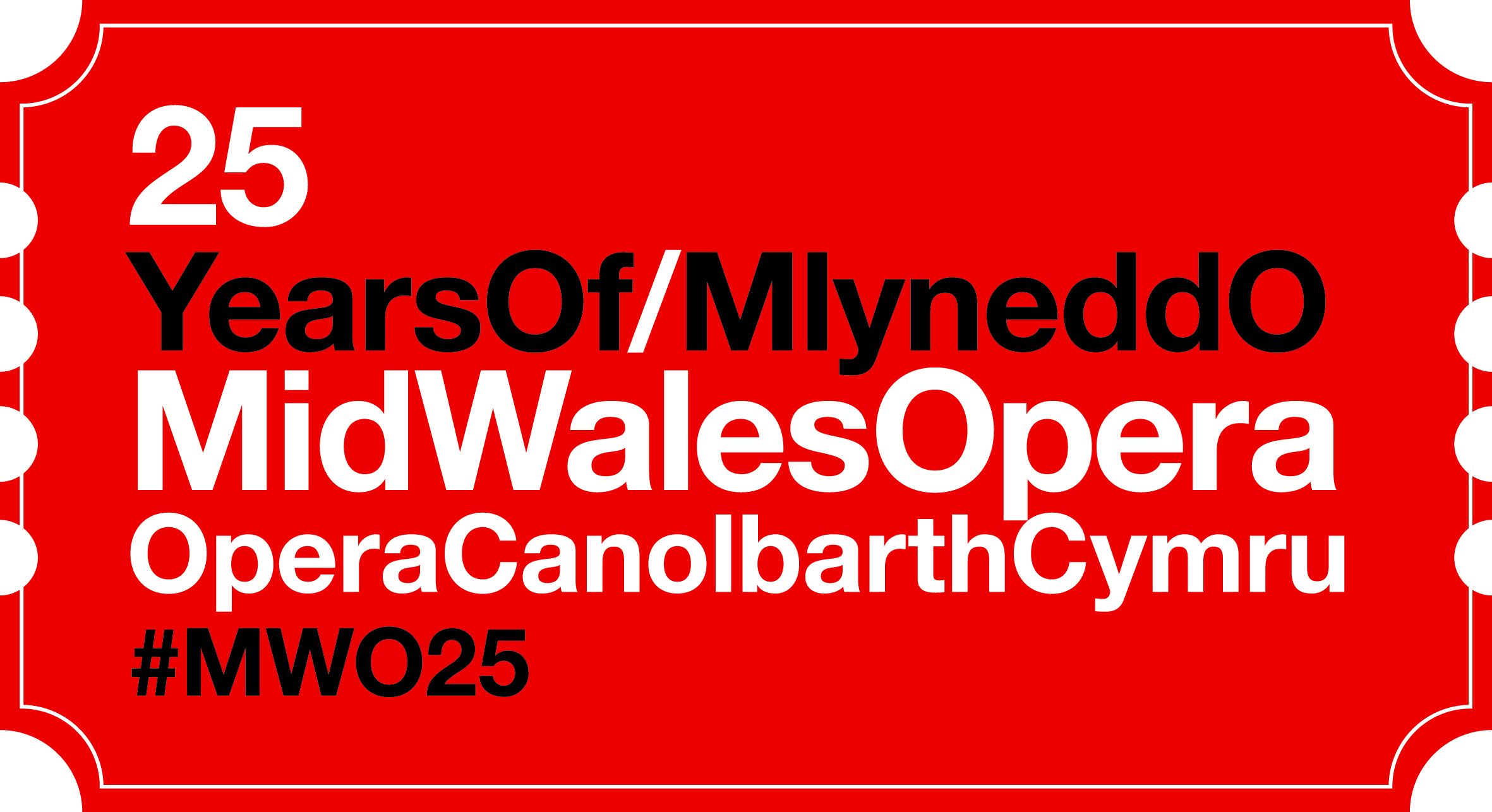I am delighted to have taken on  Mid Wales Opera  for its 25th Anniversary Year. The company will be staging two major productions in 2014 - Handel's Acis & Galatea with Rachel Podger and Brecon Baroque and Carmen, directed by Dr Jonathan Miller.