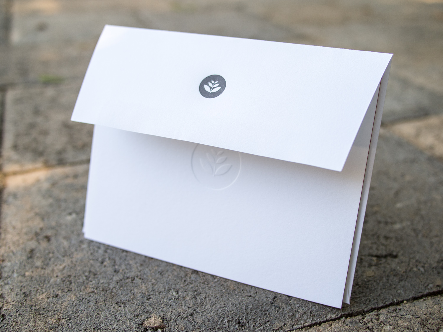 Letterpress Note Card & Envelope