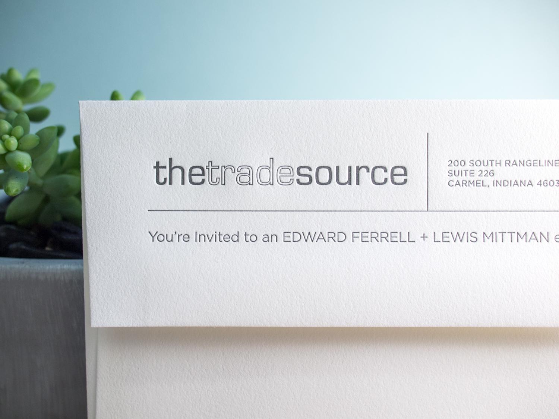 Letterpress Envelope