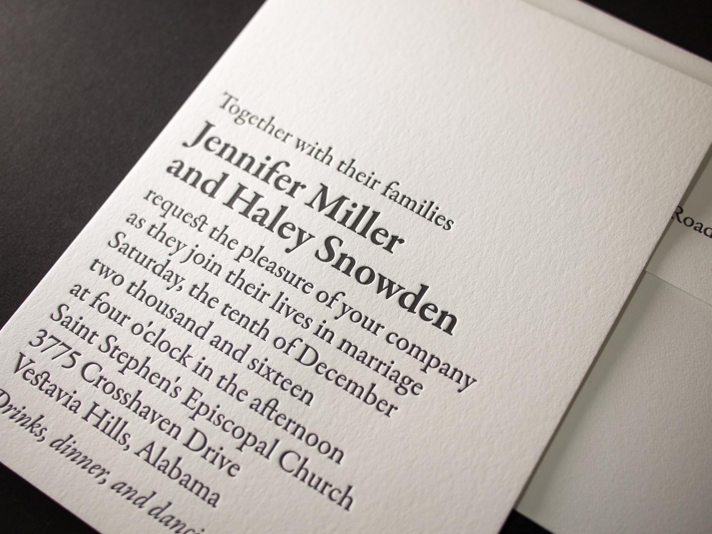 Bookplate Invitation