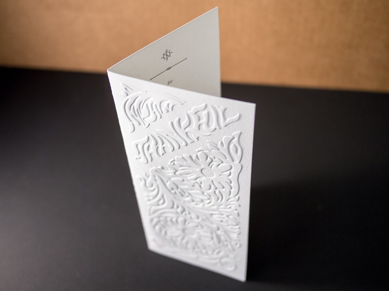 Folded Holiday Card
