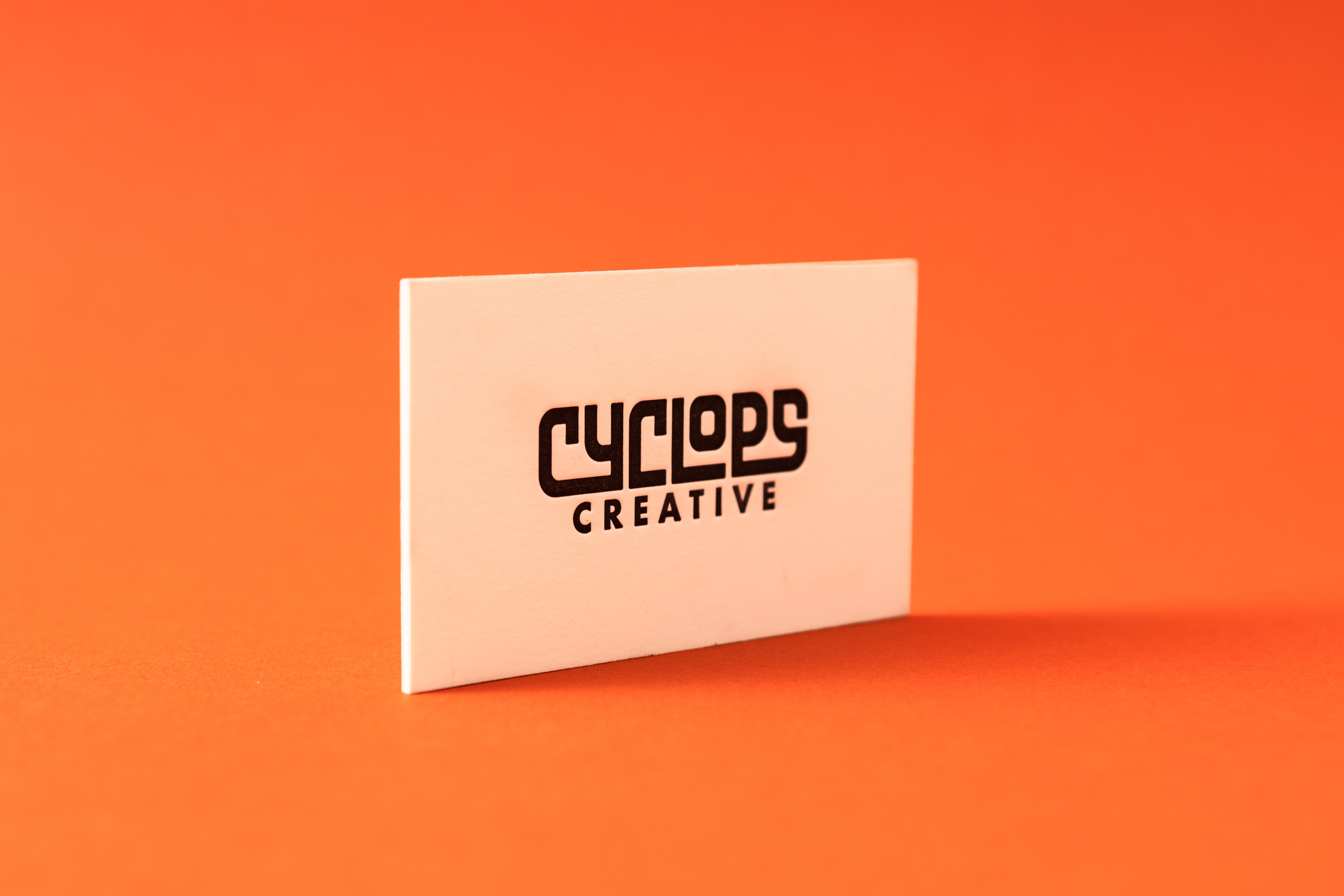 Super Thick Business Card