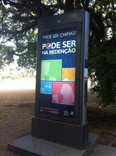 A Pepsi tem uma presença especial no Parque da Redenção em Porto Alegre, fornecendo para os gaúchos água quente para o chimarrão. Quais exemplos de ativação você já viu na sua cidade?