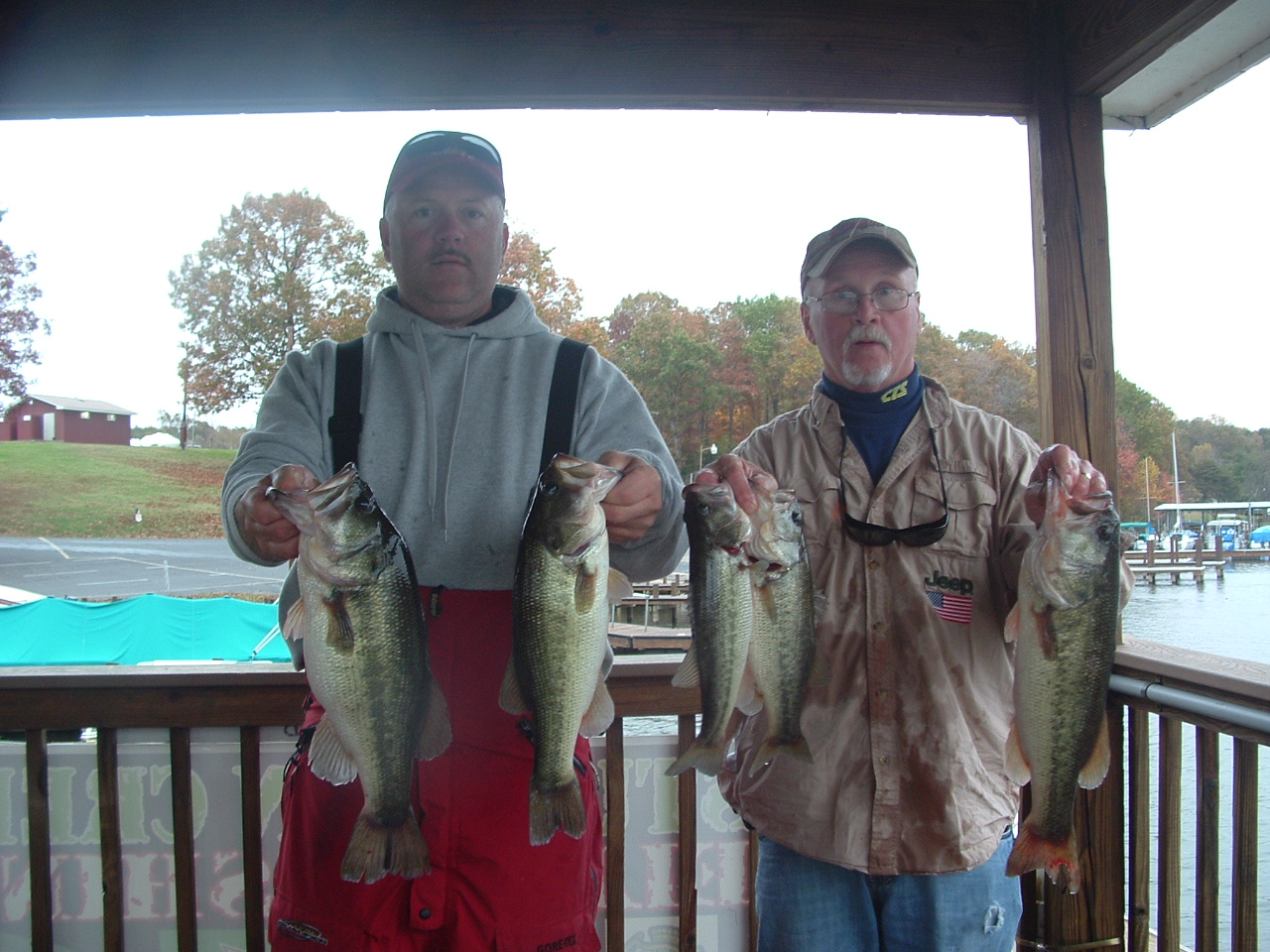 Melvin Fulk and Bill Seal  Fifth Place 19.71 lbs