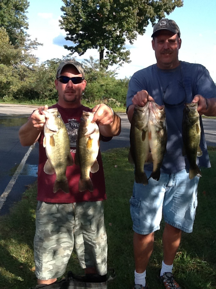 Andy Bowman and Barry Shrum  11.64 lbs