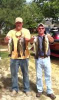 Barry Shrum and Andy Bowling Second Place  14.19 lbs