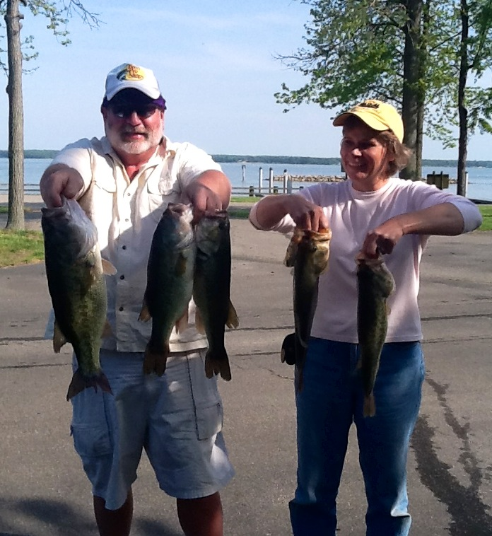 Wayne and Cindy Crickenberger First Place 16.44 lbs