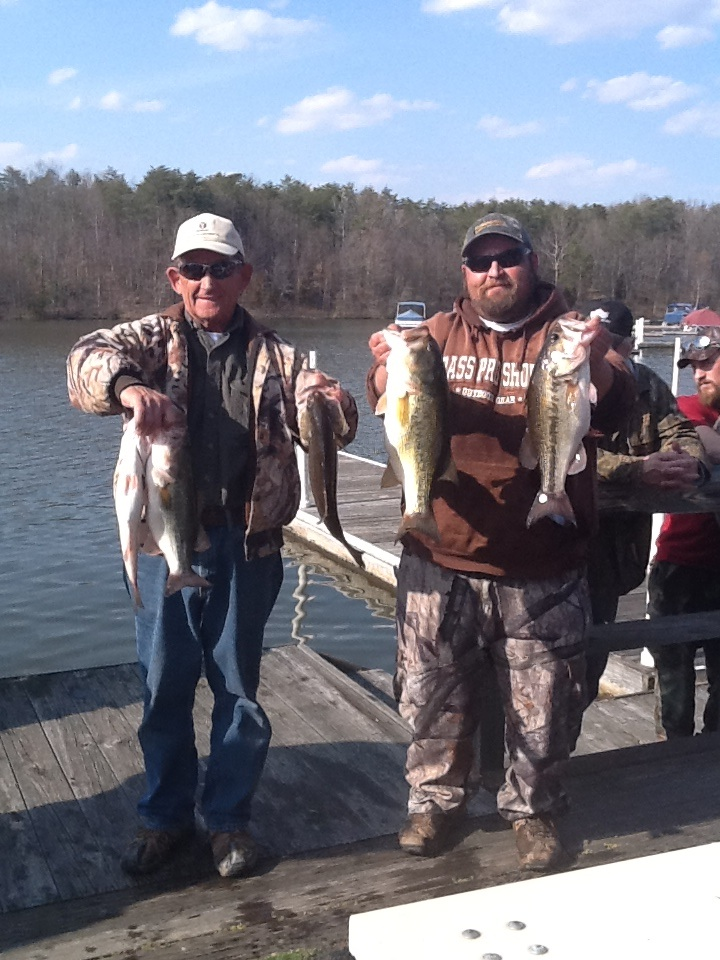 Bobby and Joey Lineweaver First Place and Big Fish 17.79 lbs and 5.72 lbs.