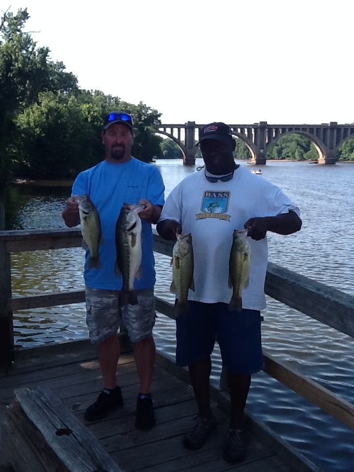 Melvin Bowling and Chris Cubbage First Place 11.91 lbs