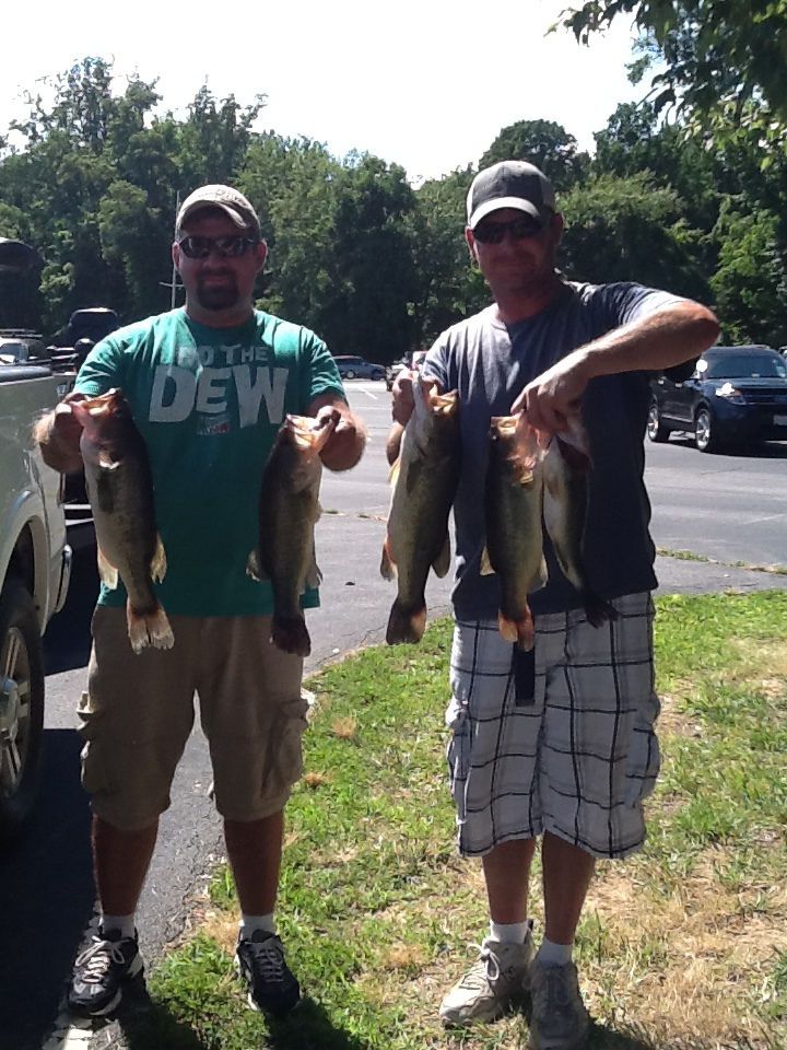 Bryan Conley and Stacey Hottinger  Second Place 13.15 lbs