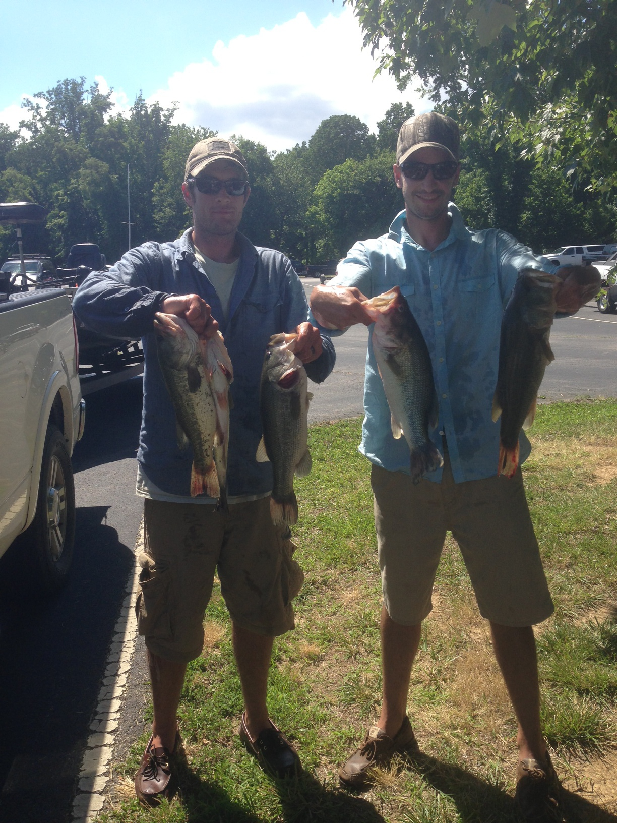 Daniel Rohrig and Ben Snyder Sixth Place   11.29 lbs