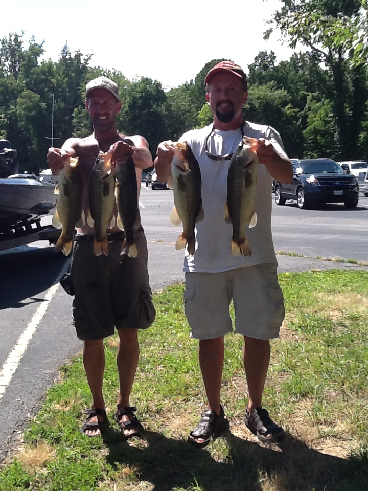 Ricky Fulk and Jeff Lugar Fifth Place 11.78 lbs