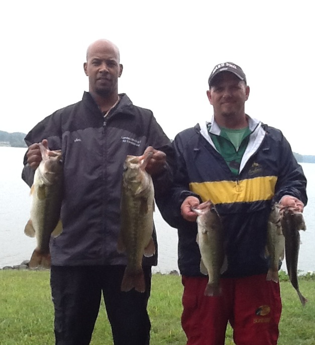John Engle nd Bobby O'Brien Fourth Place 12.86 lbs
