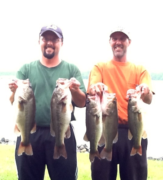 Jeff Lugar and Ricky Fulk First Place 17.65 lbs