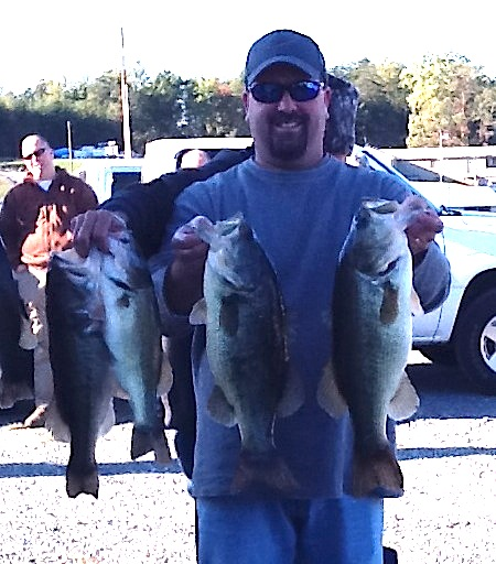 Melvin Bowling First Place 18.47 lbs