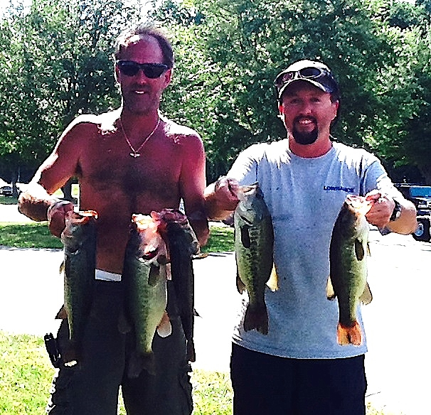Ricky Fulk and Jeff Lugar Third Place 11.71 lbs