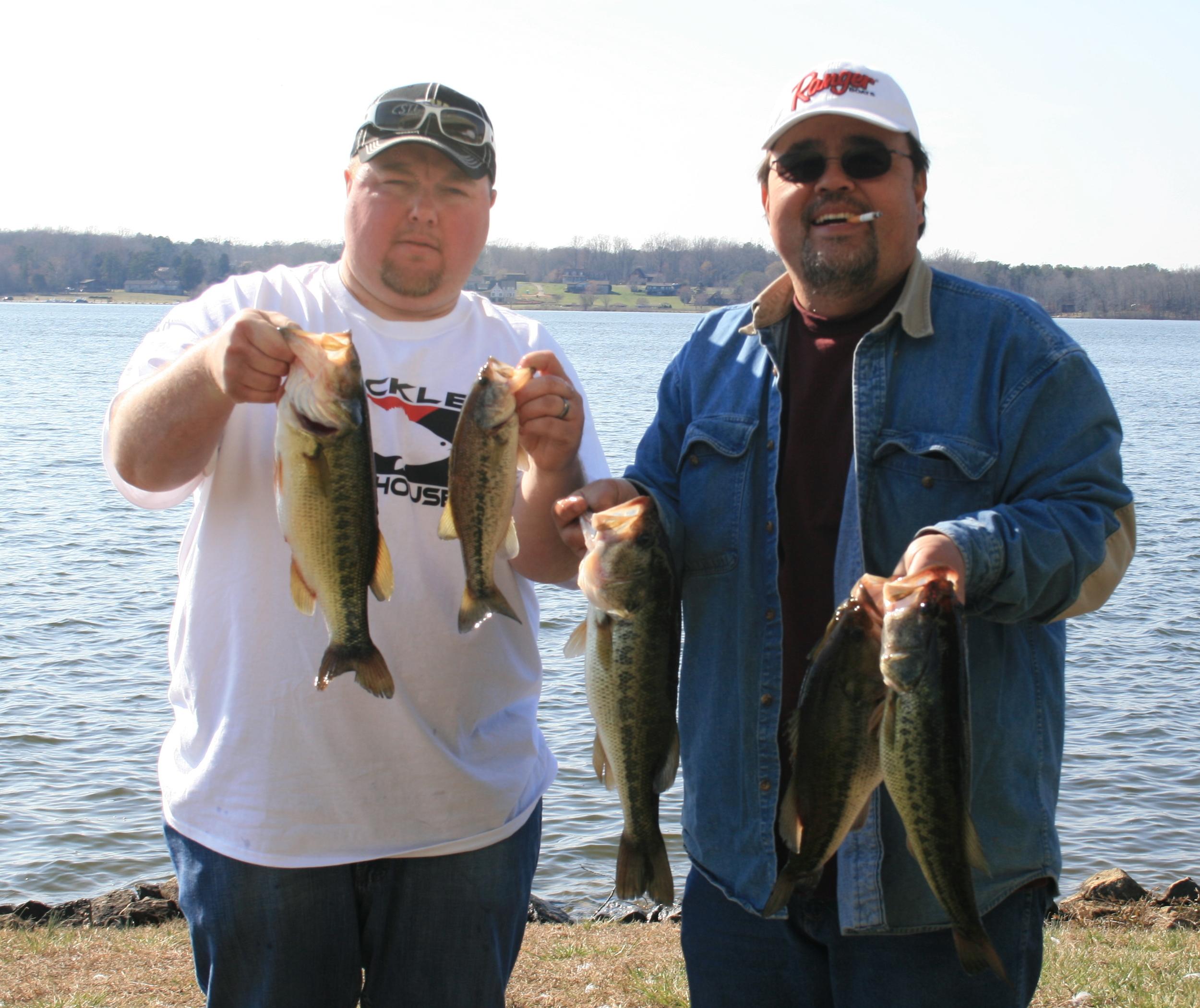 Tim and Joe Tebo Third Place 12.08 lbs.