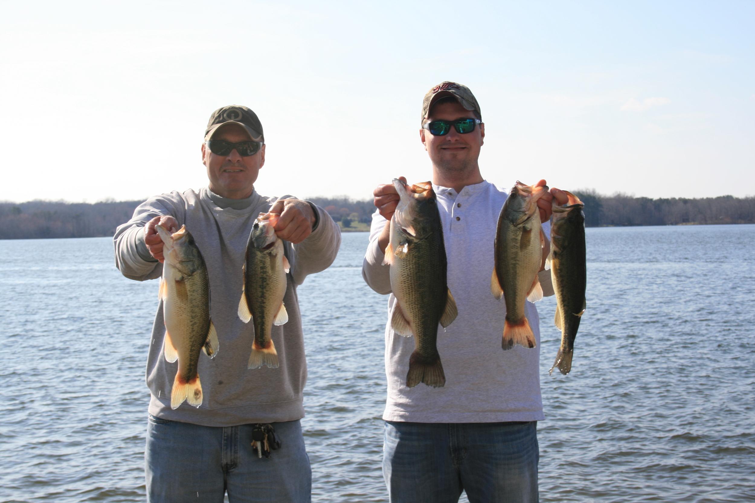 John Sherer and Corey Blake Second Place 15.15 lbs