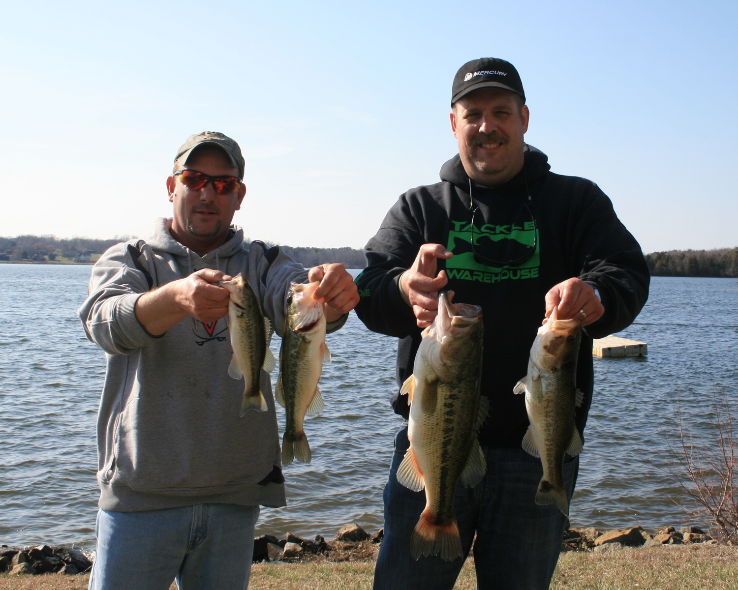 Andy Bowman and Barry Shrum 8.03 lbs