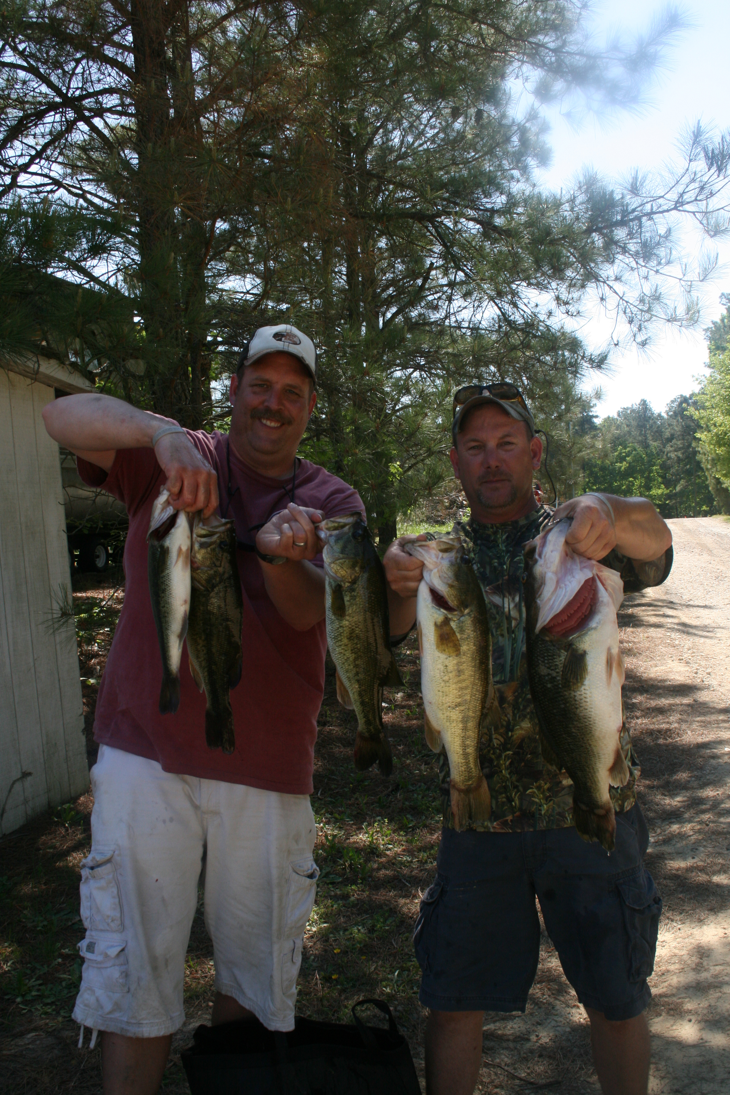 Barry Shrum and Andy Bowman Second Place 18.94 lbs