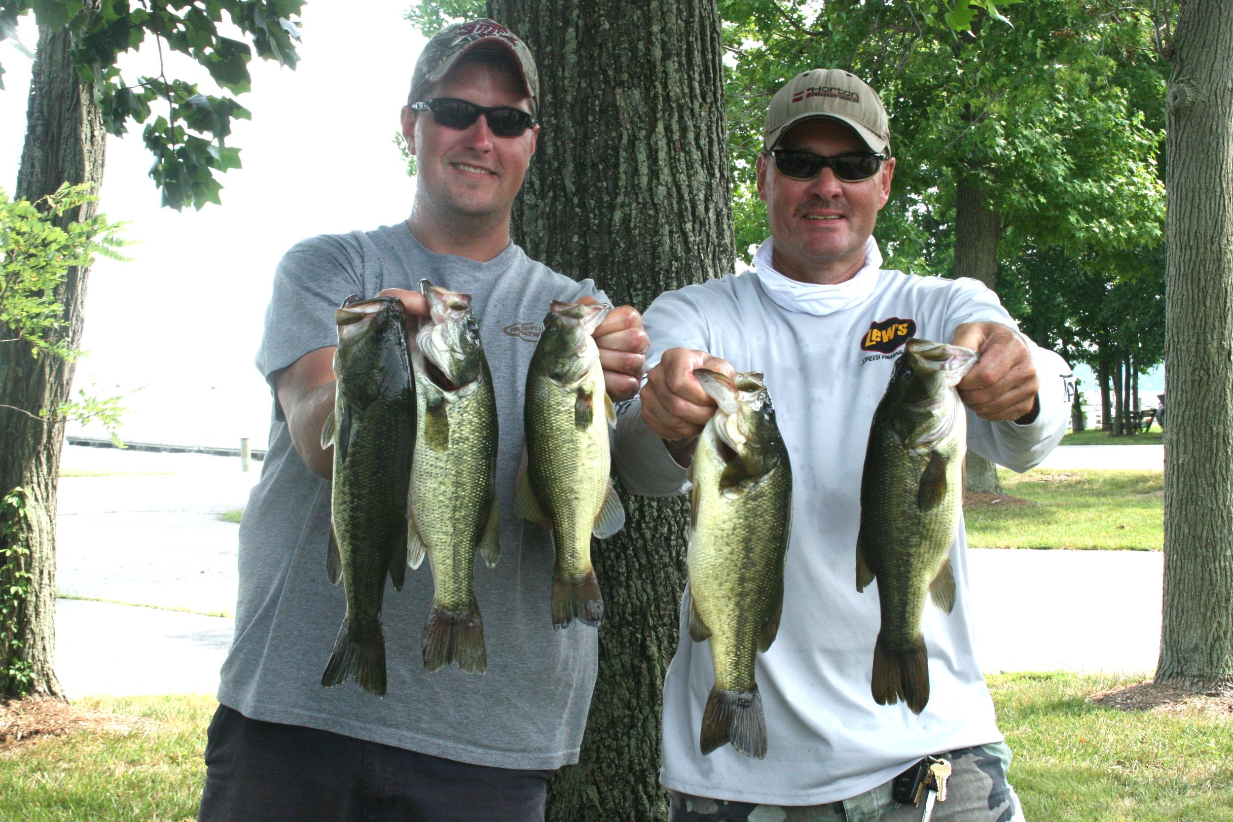 Corey Blake and John Sherer 8.72 lbs