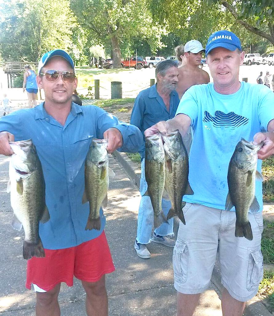 Michael and Mark Heatwole Third Place 12.11 lbs
