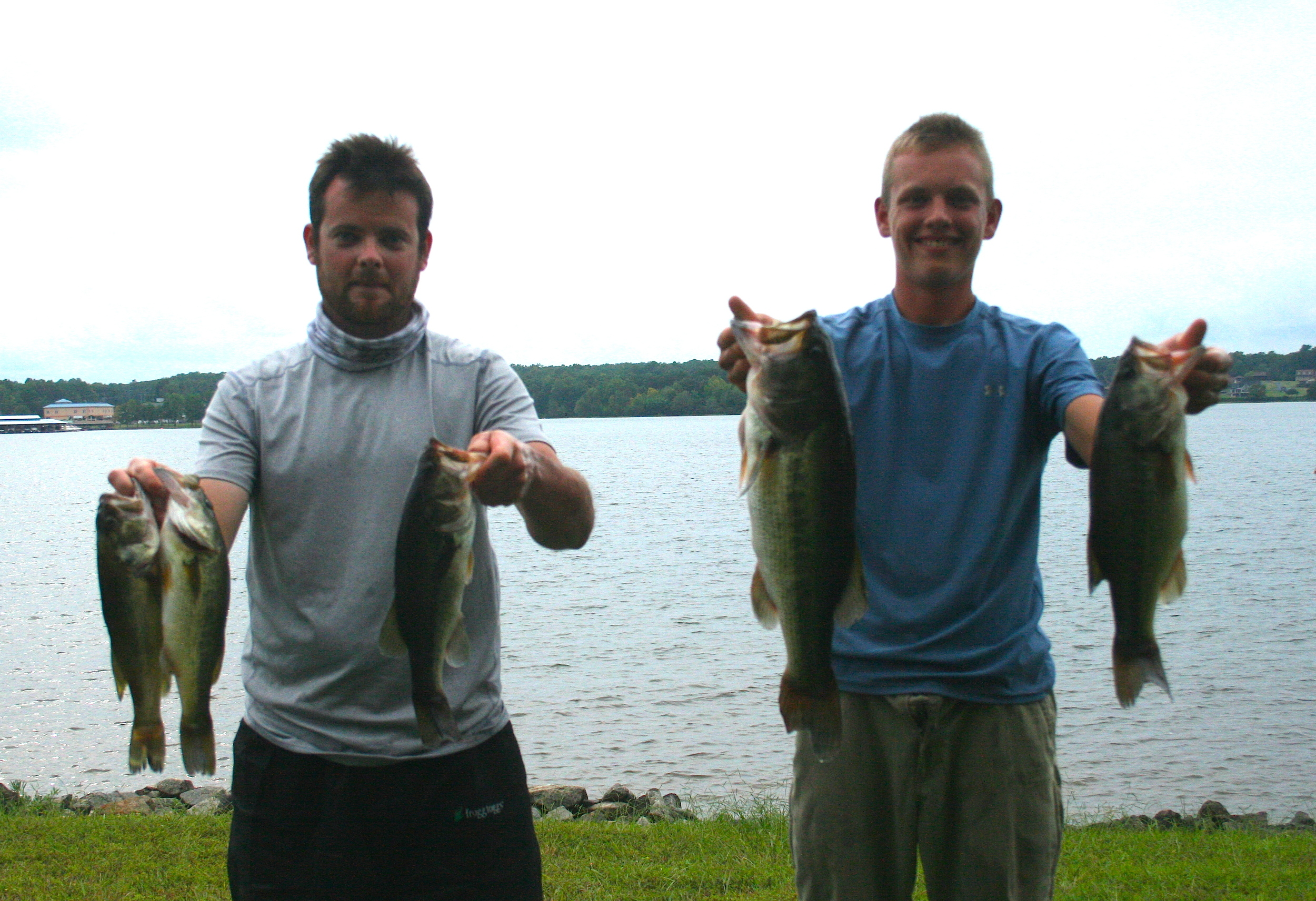 Gabe Heatwole and Dominique Morris Fourth Place 12.20 lbs