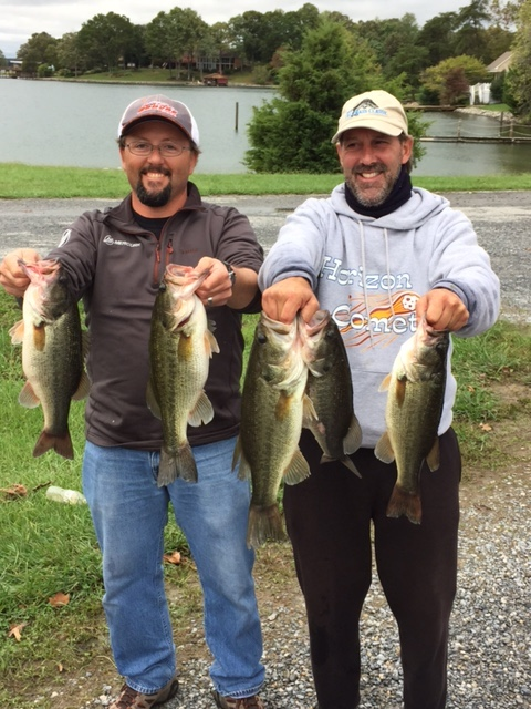 Jef Lugar and Ricky Fulk First Place 21.37 lbs