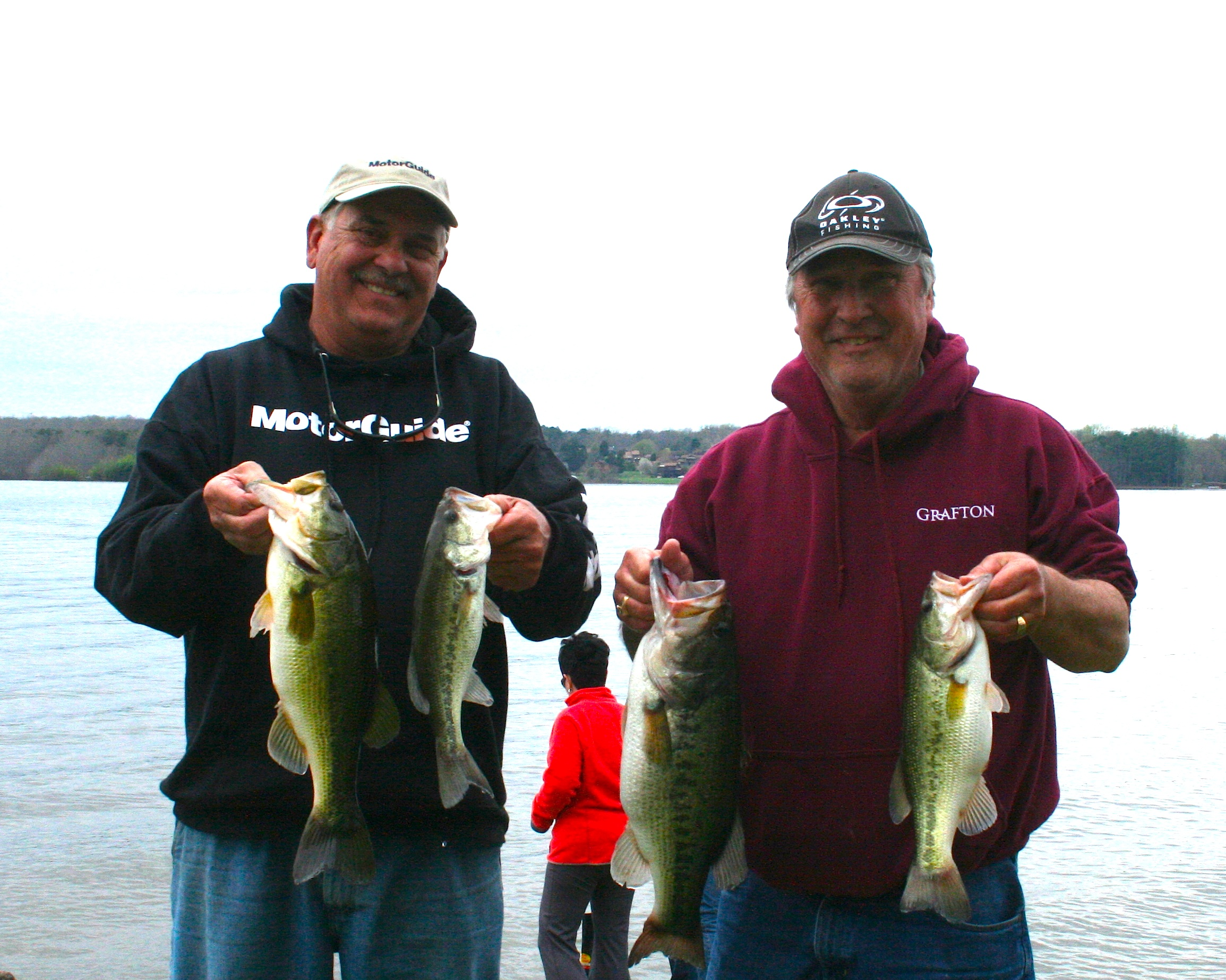Stephen Feltner and Gary Jenkins Fourth Place 12.87 lbs