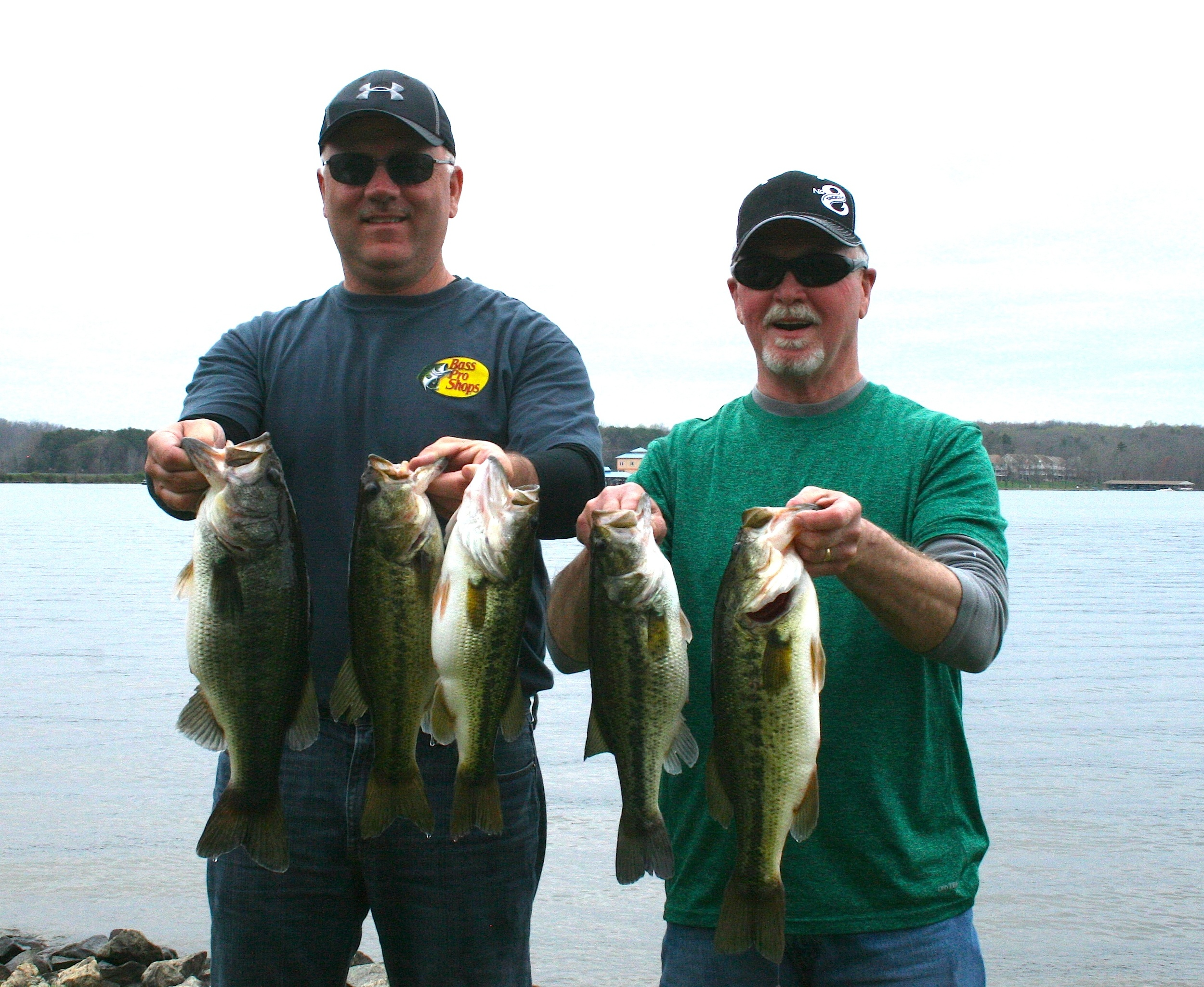 Melvin Fulk and Bill Seal Second Place 14.52 lbs