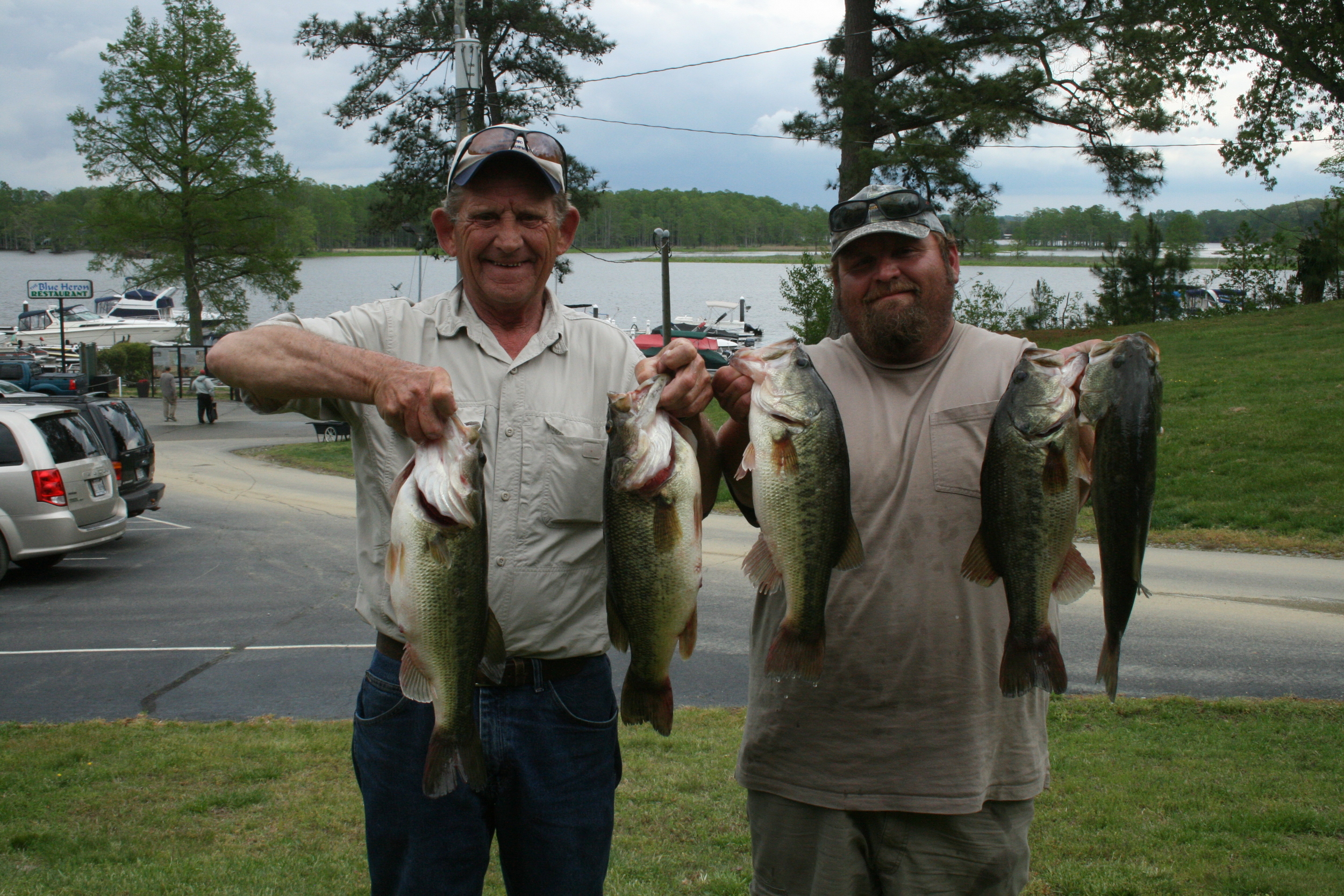 Bobby and Joey Lineweaver First Place 19.07 lbs