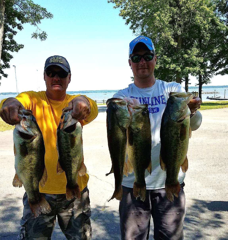 John Sherer and Corey Blake First Place 17.97 lbs