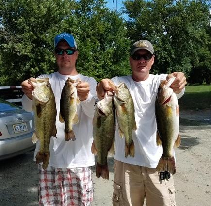 John Sherer and Corey Blake First Place 13.37 lbs
