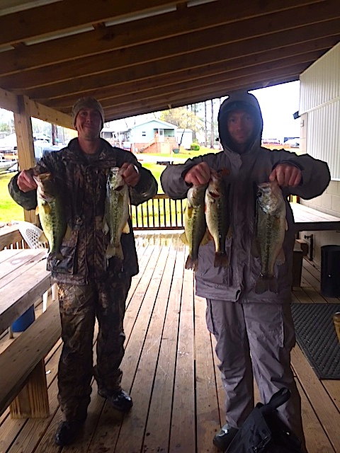 James Burner and Chris Orndorff Second Place 11.26 lbs