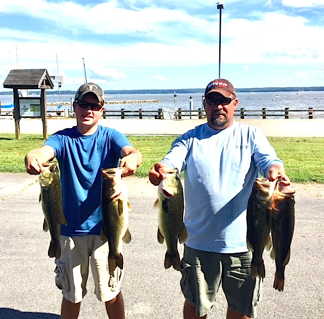 Ryan and Bryan Connelly First Place 17.58lbs