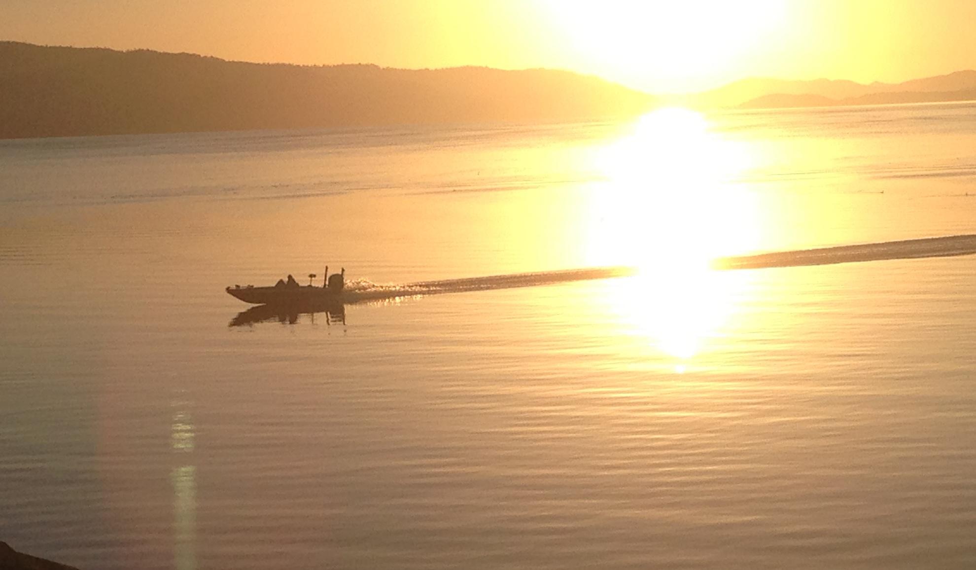 Clear Lake Bass Boat.JPG