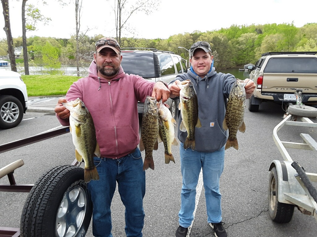 Bryan and Ryan Conley Third Place 13.78 lbs