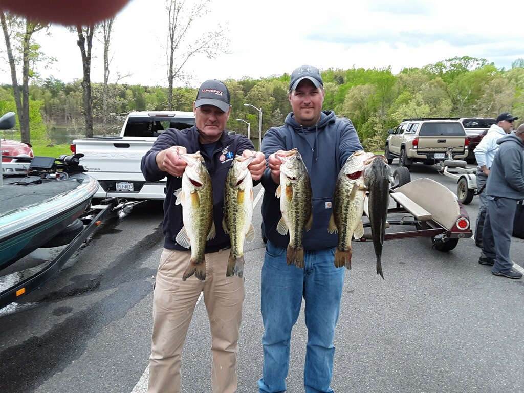 John Sherer and Corey Blake Second Place 15.77 lbs