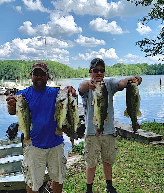 Bryan and Ryan Conley Second Place 16.30 lbs