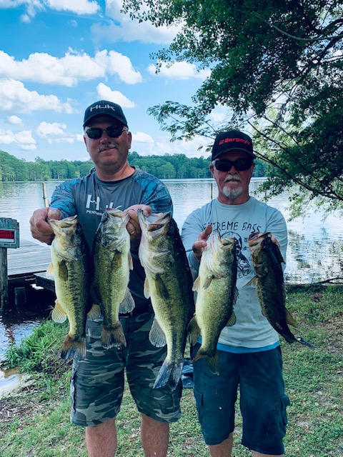 Melvin Fulk and Bill Seal Third Place 15.64 lbs