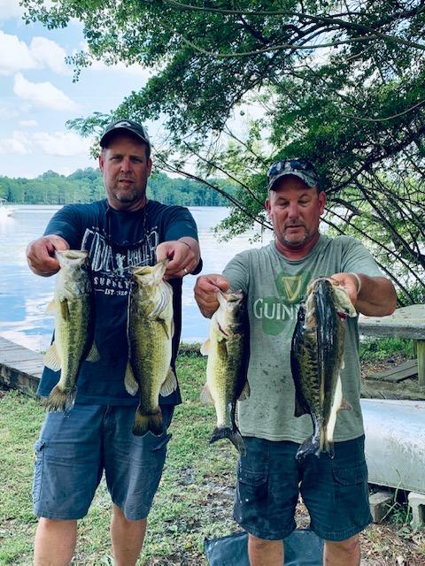 Barry Shrum and Andy Bowman Fifth Place 13.63 lbs