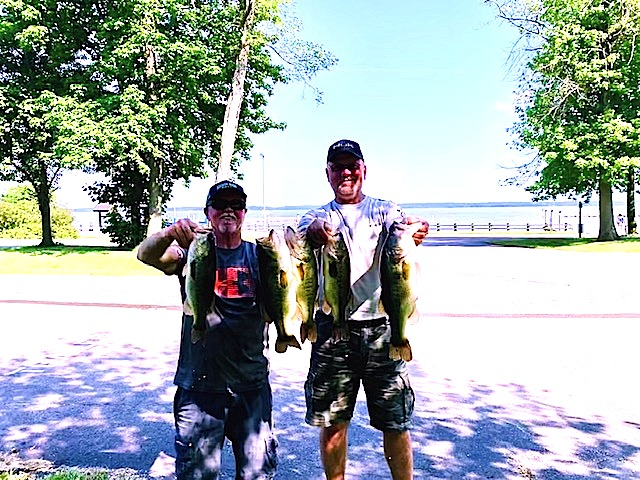 Bill Seal and Melvin Fulk Second Place 14.62 lbs