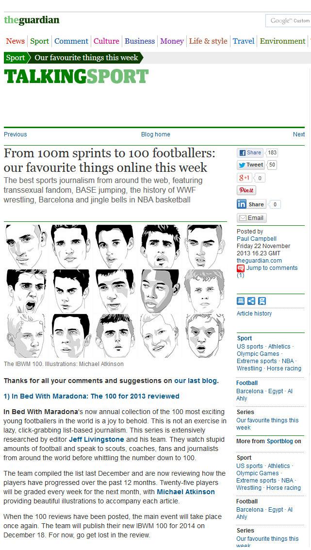 The Guardian, November 2013